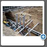 Shore Power Conduit Installation